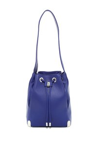 Vince Camuto Leather Tote Drawstring Purse Hobo Bag