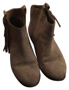 Sole Society Tan suede Boots