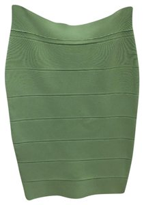 Romeo & Juliet Couture Bandage Under 50 Chic Trendy Going Out Skirt Mint
