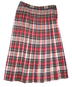 Pendleton Size 12p Skirt Dress Stewart tartan