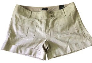 The Limited Cuffed Shorts Light tan