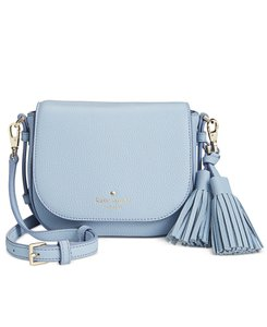 Kate Spade Leather Blue Gold Penelope Cross Body Bag