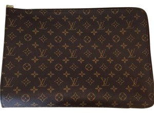 Louis Vuitton Traditional Monogram Clutch