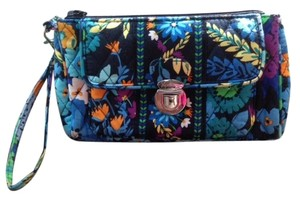 Vera Bradley Wristlet in Midnight Blues