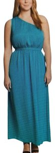 Teal Maxi Dress by The Limited Plus-size Maxi One