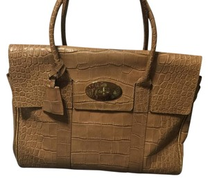 Mulberry Satchel in Camel