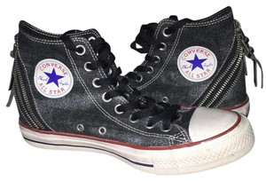 Converse Charcoal Gray/Maroon Athletic