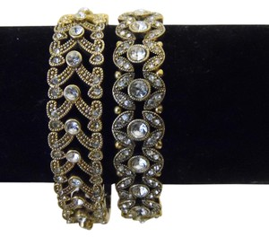 Real Collectibles by Adrienne Real Collectibles Stretch Crystal Bracelet Set