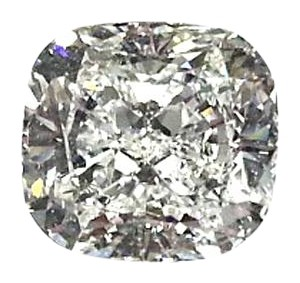 GIA Certified 3.01 Carat E-VS1 quality Cushion Cut Diamond