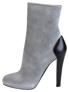 Gucci Suede/leather Ankle Grey Boots