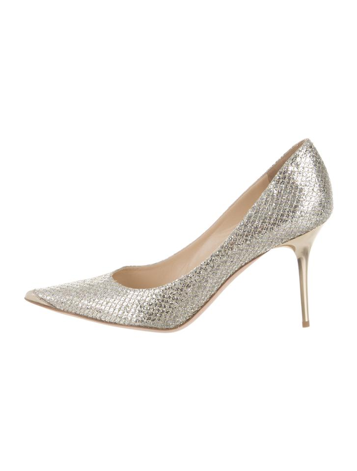 3d8d03c5022 Jimmy Choo Silver Abel Pumps Size EU 40 (Approx. US 10) Regular (M ...