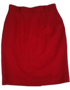 Carlisle Skirt Red, cherry