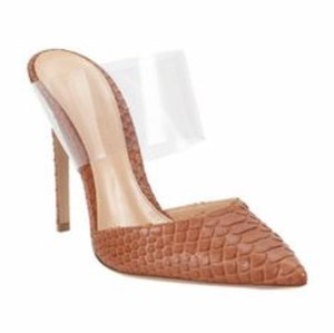 Gianvito Rossi Brown Python Sandals