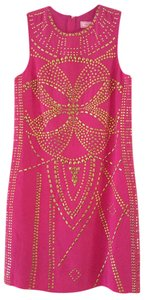 Versace for H&M Studded Collectible Rare Silk Dress
