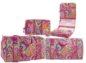 Vera Bradley Shipping Weight 3lbs Travel Bag