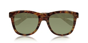 Saint Laurent NEW YSL 2352 Wayfarer D-frame Sunglasses, Tortoiseshell