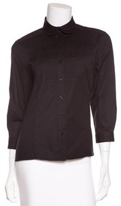 Dior Button Down Shirt Black