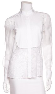 Valentino Button Down Shirt White