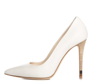 Fendi White Pumps