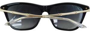 Gucci New GG 3778/S HQWVK Black Gold Frame Gray Gradient Sunglasses 55mm