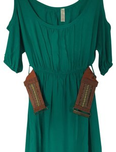 Lovely Day short dress Green on Tradesy