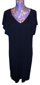Nautica Nautica Black Sleepwear Shirt/Gown Knee-length XL
