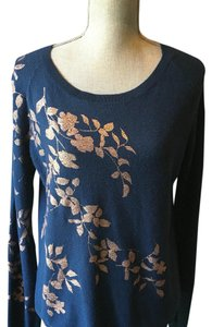 Anthropologie Top Cobalt