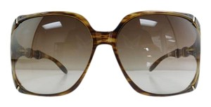 17bc6dcd7c1 Gucci New GG 3508 S 23DJD Havana Gold Frame Brown Gradient Sunglasses 58mm