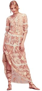 Ivory/Nude Maxi Dress by For Love & Lemons