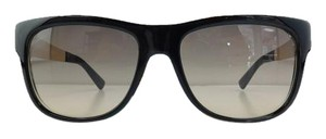 Gucci New GG 3802/S NIEED Top Black Frame Brown Gradient Sunglasses 55mm