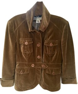 Karen Millen Faux Suede Fitted Size 10 Military Jacket