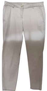 Eileen Fisher Size Medium Gray Straight Pants Light gray