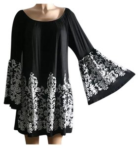 Other Off Bell Sleeve Kimono Tunic Bohemian Dress