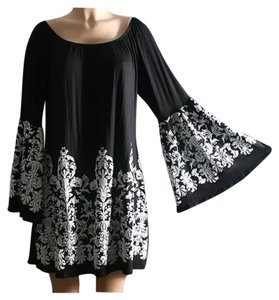 Other Off Bell Sleeve Kimono Tunic Dress