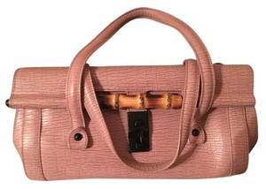 Gucci Bamboo Satchel in Light mauve/pink