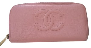 Chanel Chanel CC Long Caviar Leather Wallet