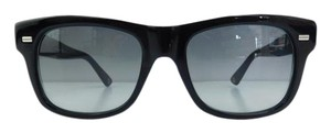 Gucci New GG 1078/S 4UAVK Black Full-Frame Gray Gradient Sunglasses 52mm