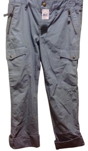 Ralph Lauren Cargo Style Panyt Brand New With Tags Long In Length Cuffed Or Not Relaxed Pants Light blue.