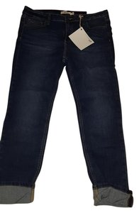 Cello Jeans Capri/Cropped Denim-Medium Wash