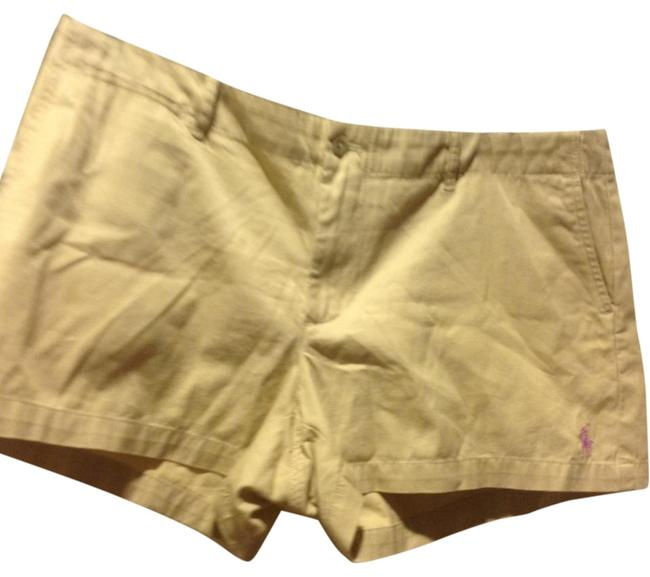 Item - Beige In Color Like New. 3 Inch Inseam Shorts Size 14 (L, 34)