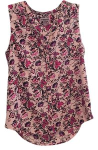 Chelsea28 Top Pink floral