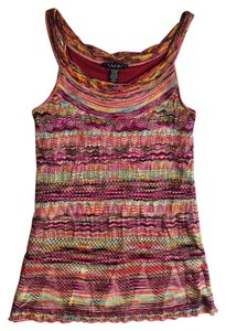 Laundry by Shelli Segal short dress Multi-Color Knit Sleeveless on Tradesy