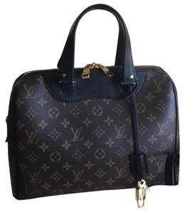 Louis Vuitton Satchel in Monogram Black