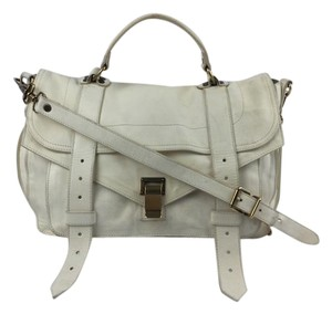 Proenza Schouler Ps1 White Shoulder Bag
