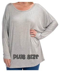 Other Dolman Sleeve Blouse Plus Size Curvy Tunic