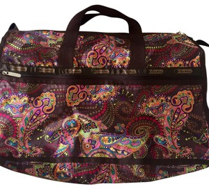 LeSportsac Brown / Paisley Travel Bag