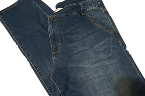 Christopher & Banks Straight Leg Jeans-Light Wash