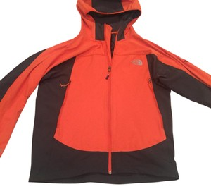 The North Face Orange and Grey Jacket