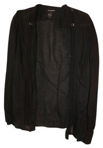 Lucky Brand Machine Wash Warm Top Black
