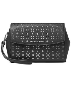 Michael Kors Hangbag Crossbody Wristlet in Black